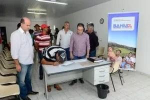 A CAR assinou convênio com a Associação dos Produtores Rurais de Ouro Verde