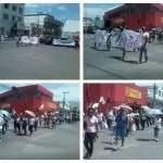 Estudante e professores fazem manifestação contra PEC 241 em Itaberaba