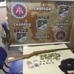 CIPE CHAPADA prende traficante em Nova Redenção