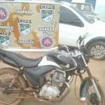 Cipe Chapada prende homem com moto roubada em Iraquara