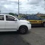 PRF em Itaberaba/BA recupera caminhonete roubada em Fortaleza/CE