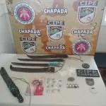 CIPE CHAPADA prende dupla após praticar roubos em Bonito