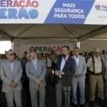 Governador anuncia novo concurso público para mais de 2,8 mil PMs e bombeiros