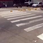 Após denúncia, SMTT revitaliza faixas de pedestre em Itaberaba