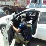 PRF recupera veículo roubado poucas horas após o crime em Capim Grosso/BA