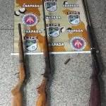 Cipe Chapada apreende armas em Iaçu