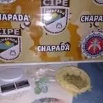 Cipe Chapada prende em flagrante traficante fugitivo da justiça em Utinga