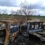 Incêndio destrói mais de 20 veículos entre apreendidos e da Prefeitura de Utinga