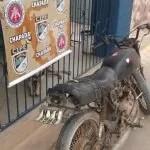 Cipe Chapada apreende menor com moto roubada em Andaraí