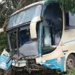 Acidente envolvendo ônibus da Novo Horizonte deixa quatro vítimas fatais