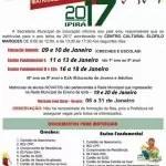 Calendário de matrículas de 2017 para rede municipal de Ipirá é divulgado