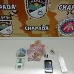 Cipe Chapada apreende menor  com drogas e dinheiro em Ruy Barbosa