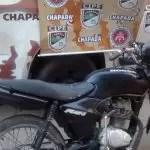 Cipe Chapada recupera moto roubada em Iaçu