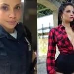 Policial  conta que beleza ajuda na prisão de criminosos