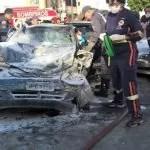 6 pessoas ficam feridas e uma morre em engavetamento na Avenida João Durval