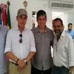 Secretário do Meio Ambiente faz visita técnica ao Rio Utinga