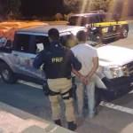 Condutor é flagrado pela PRF com documentação falsa em Seabra