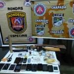 Operação conjunta desarticula quadrilha responsável por tráfico de drogas e roubos em Boa Vista do Tupim