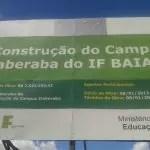 IF Baiano: remarcada audiência pública em Itaberaba
