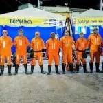 Corpo de Bombeiros faz exposição no aniversário de 140 anos da cidade de Itaberaba.