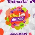 Prefeitura de Ipirá lança marca oficial da Micareta