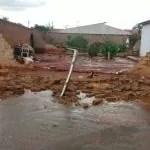 Livramento: fortes ventos e chuva causam estragos em todo município