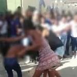Estudante é espancada e tem a roupa rasgada em frente à escola, em Ipirá