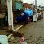 Chuva forte causa tromba d'água e deixa 94 famílias desabrigadas em Lajedinho