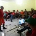 Corpo de Bombeiros realiza capacitação de brigadistas em Abaíra