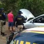 PRF recupera em Lençóis veículo roubado em São Caetano do Sul/SP