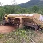 Boa Vista do Tupim: Grave acidente com caminhão pipa na região do Grotão