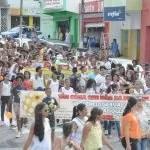Caminhada marca o Dia Nacional de Combate ao Abuso de Crianças e Adolescentes em Itaberaba