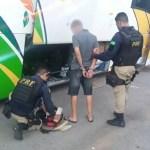 Traficante é preso pela PRF em Seabra transportando drogas para o estado da Paraíba