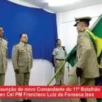 Novo comandante do 11° Batalhão de Policia toma posse em Itaberaba
