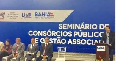 Ricardo Mascarenhas participa do seminário de consórcios públicos e gestão associada