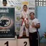 Askadoi representa bem Itaberaba no campeonato Baiano de Karatê