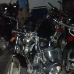 Operação da CIPE CHAPADA na zona rural de Macajuba ,apreende nove motos adulteradas