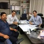 Prefeito Ricardo Mascarenhas se reúne com diretor da Embasa a fim de trazer melhorias no saneamento básico do município