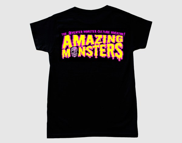 Camiseta del logotipo de Amazing Monsters