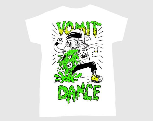 Camiseta de Vomit Dance