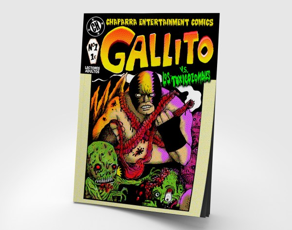 Gallito vs. Los Toxicozombies (nº 1)