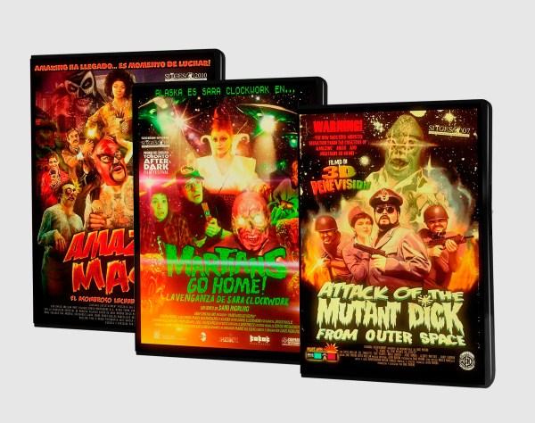 Pack DVD's Chaparra Entertainment