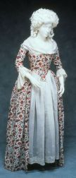 Robe à l'Anglaise, The Netherlands, c. 1780.