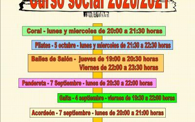 Curso social 2020 / 2021