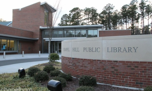 Chapel Hill Library to Create Outside Working Space