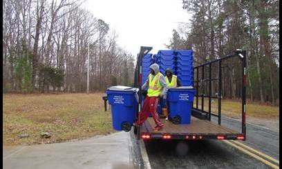 Town and County Leaders Debate How to Pay for Recycling