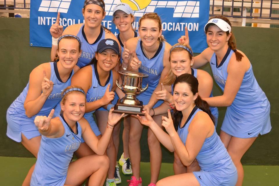 More National Glory For Tar Heel Women's Tennis