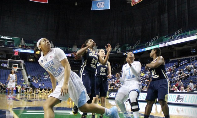 Tar Heels Take Down GT in First Round of ACC's
