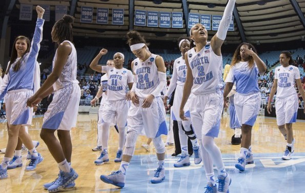 UNC WBB Holds Off Liberty in NCAA First Round