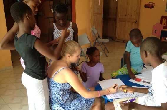 Chapel Hill High Student Off to Build Playground in Haiti